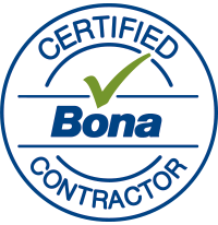 Bona Certified Contractor logo